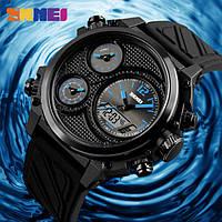 Мужские наручные часы Skmei 1359 синие, фото 1