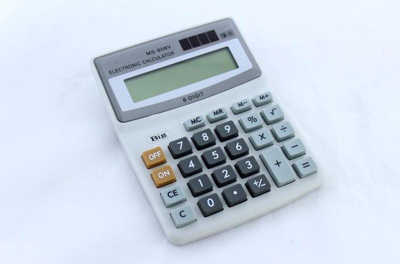 Настольный калькулятор MS-808V