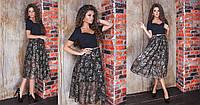 Платье женское в расцветках 27641, фото 1