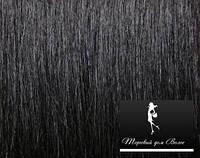 Натуральные Славянские  Волосы  Черный 01   55 см, фото 1
