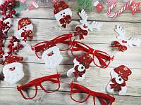 Новогодние очки 12 шт