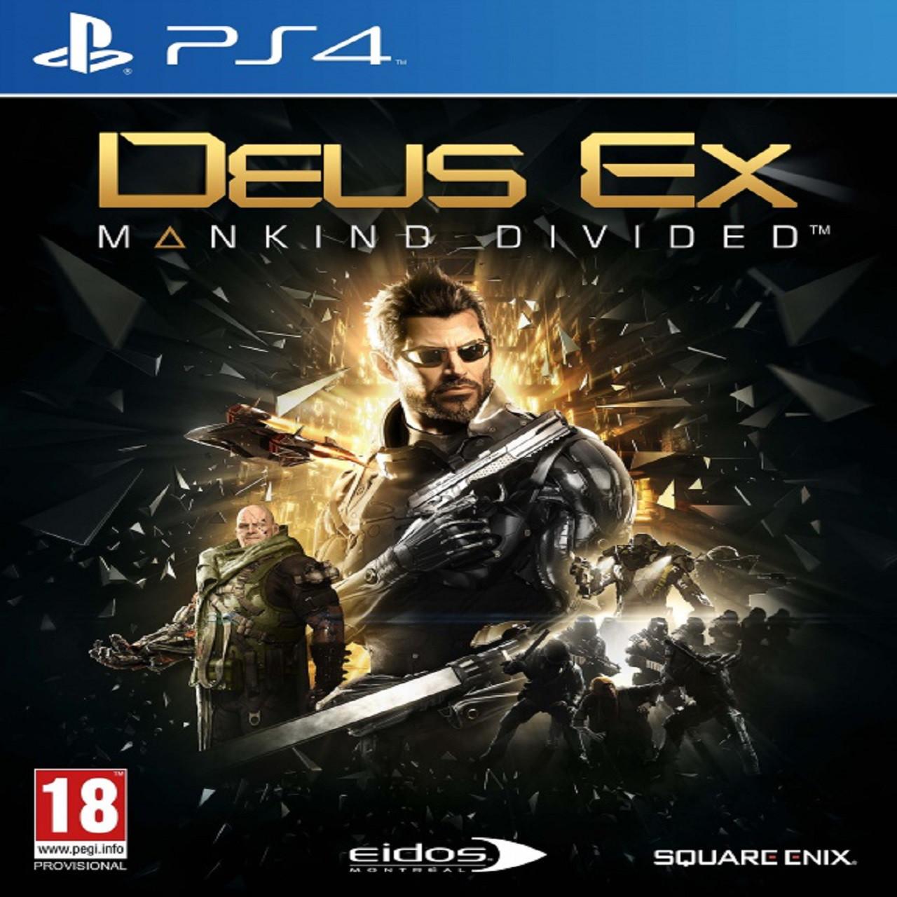 Deus Ex: Mankind Divided RUS PS4 (NEW)
