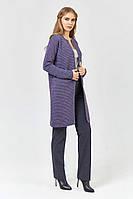 Кардиган XW468  (42-44, фиолетовый, 75% акрил/ 15% полиамид/ 10% шерсть) Код:766686858