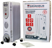 Масляный обогреватель Grunhelm GR-0715