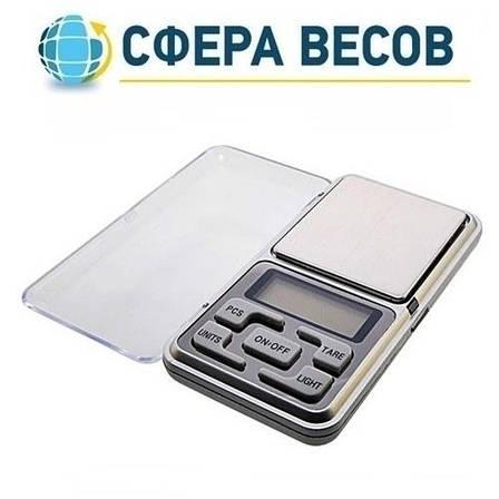 Весы ювелирные Pocket Scale MH-200, 200г (0,01г), фото 2