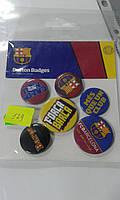 Барселона Набор значков*6 шт
