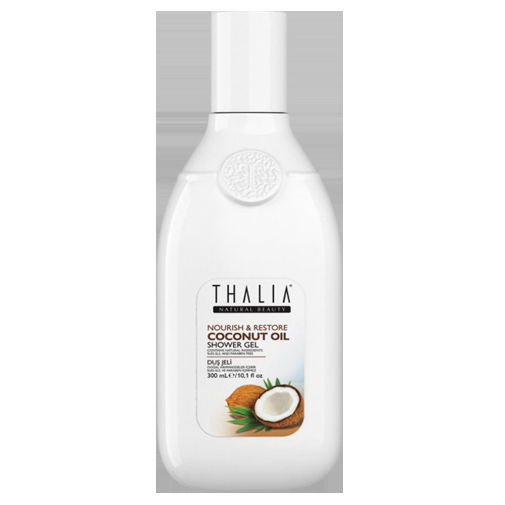 Гель для душа с кокосовым маслом THALIA, 300 мл