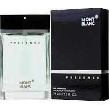 Мужской аромат Mont Blanc Presence