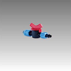 Кран стартовый с поджимом для пластиковой трубы КСП17