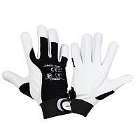 Защитные перчатки из козьей кожи LAHTI PRO L270810K