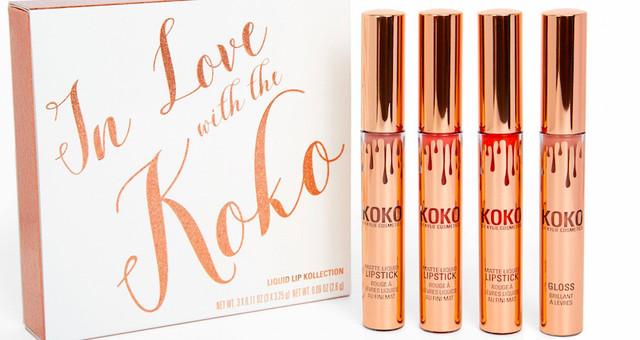 Набор помад Kylie In Love With The Koko 4в1