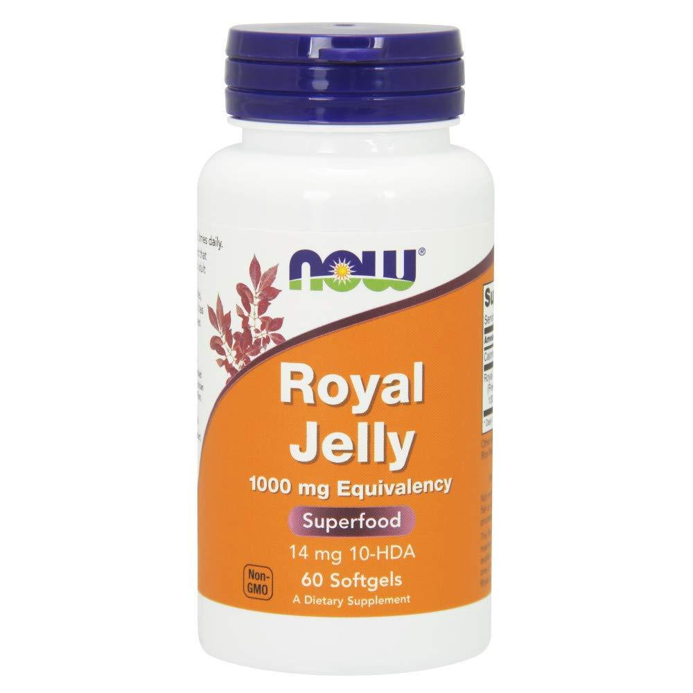 NOW Royal Jelly 1000 mg Equivalency 60 softgels
