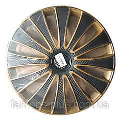 Колпаки на колеса R13 золотые GOLD голд ДЖМК