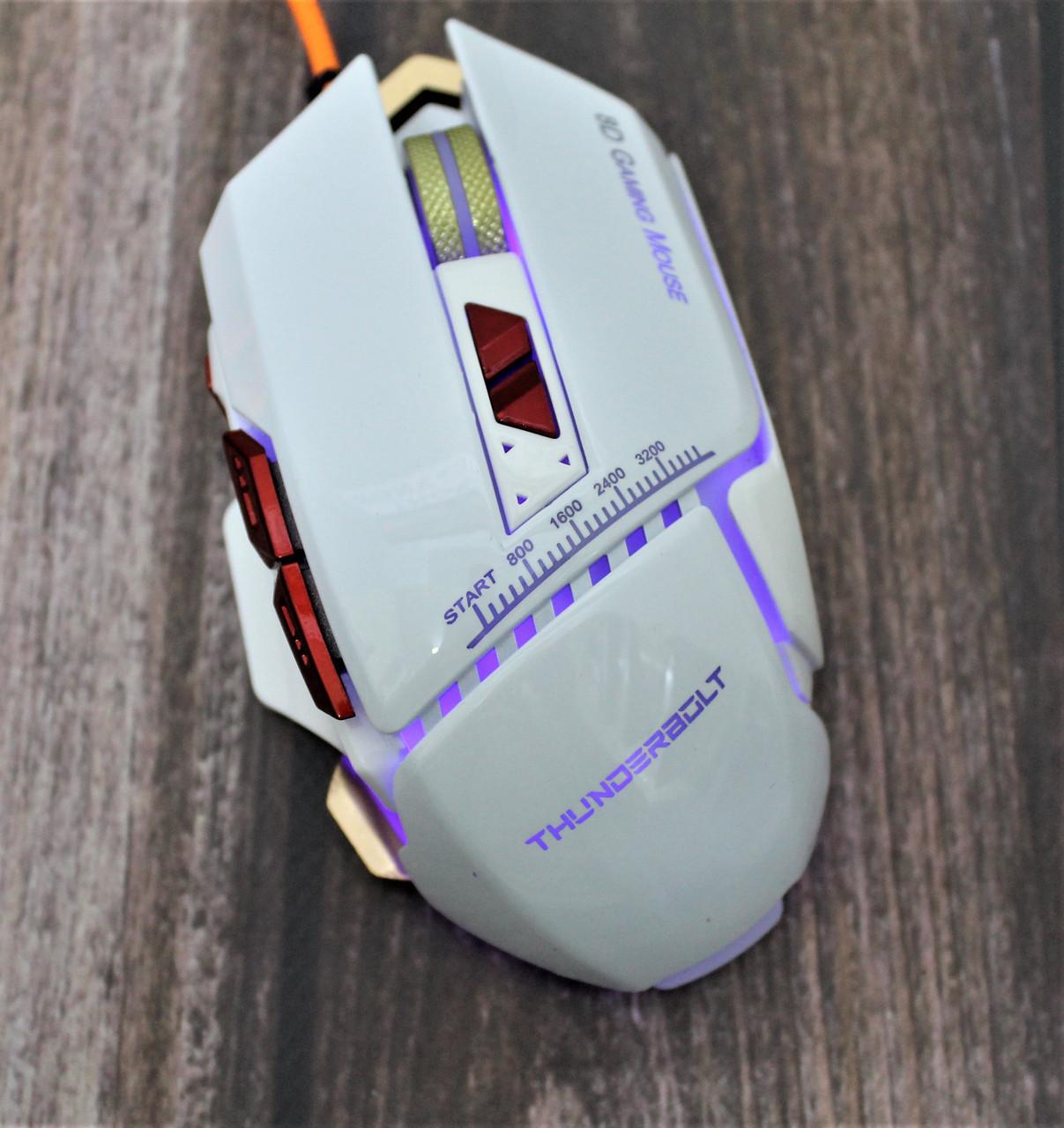 Игровая мышь Aquipment Master 8D с подсветкой Zornwee GX10