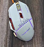 Игровая проводная мышь для компьютера с подсветкой Aquipment Master GX10 Геймерская USB, фото 1