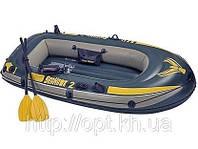 """Надувная лодка """"Seahawk 2"""" с насосом и веслами Intex 68347"""
