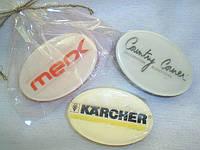Мыло с печатью логотипа