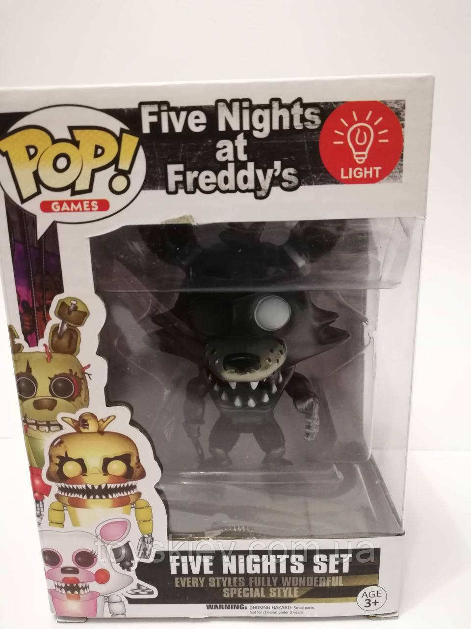 Игрушки 5 пять ночей с Фредди, Фредди / Funko Five Nights at Freddy's, Freddy 2011-4 свет эффекты.