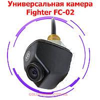 Автомобильная универсальная камера Fighter FC-02 для парковки переднего и заднего обзора врезная