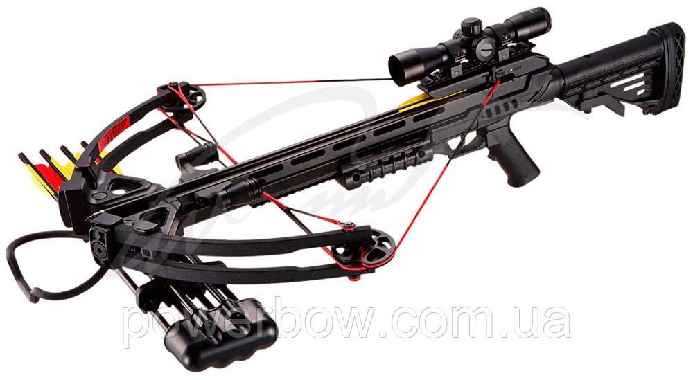 Арбалет Man Kung MK-XB52BK-KIT ц:черный