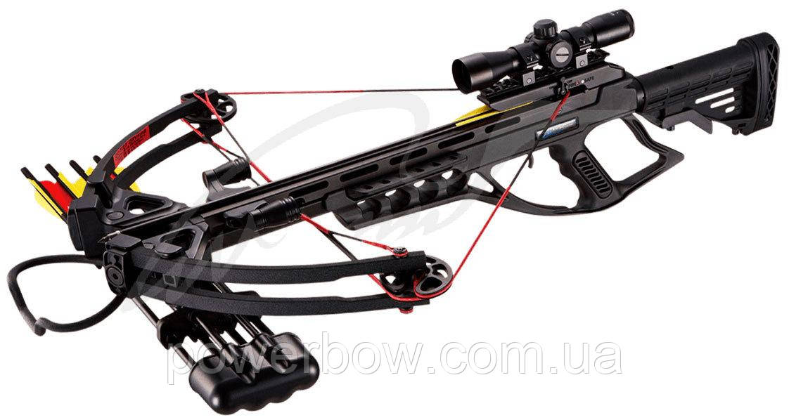 Арбалет Man Kung MK-XB55BK-KIT ц:черный