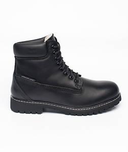 Черные мужские зимние ботинки Urban Planet GROOVE BLK