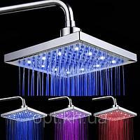 Cветодиодный душ потолочный квадратный