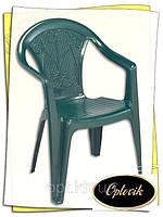 """Кресло пластиковое """"Ole"""" зеленое"""