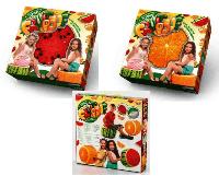 Мягкий надувной пуфик FRUIT POUF Danko Toys
