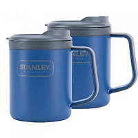 Набор туристической посуды Stanley Adventure eCycle® 2*0.47 Л Синие new (6939236321976)