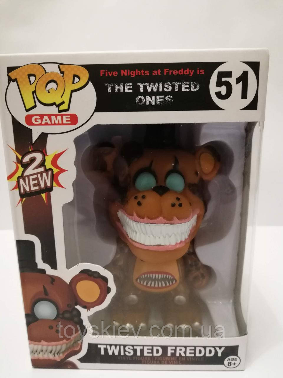 Фигурки 5 пять ночей с Фредди Funko POP Games Five Nights at Freddy's аналог 002-8-51