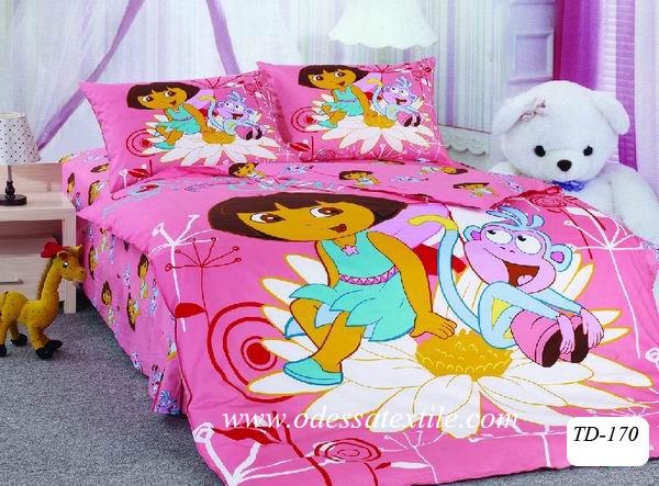 Полуторное постельное белье TD ELWAY 170 сатин - Интернет-магазин