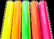 Ценник ламинированный (45*50 мм.) зеленый/красный/желтый (уп-50шт.) маленький, фото 4