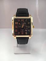 Мужские наручные часы Orient (Ориент), золотисто-черный цвет ( код: IBW101YB )