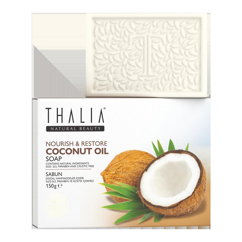 Натуральное мыло с кокосом THALIA, 150 г