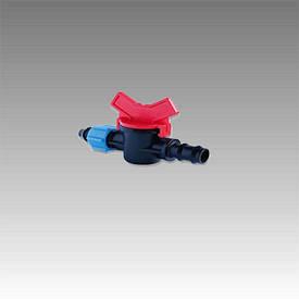 Кран с поджимом для трубы КСР 16х17