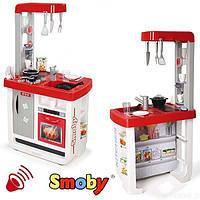 Интерактивная кухня Smoby Bon Appetit Red со звуковыми эффектами и аксессуарами (310800)