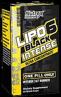 Жиросжигатель Nutrex Lipo 6 black intense Ultra Concentrate 60 black-caps