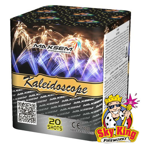 Салют KALEIDOSCOPE 20мм 20 выстр. Пиротехника и фейерверки