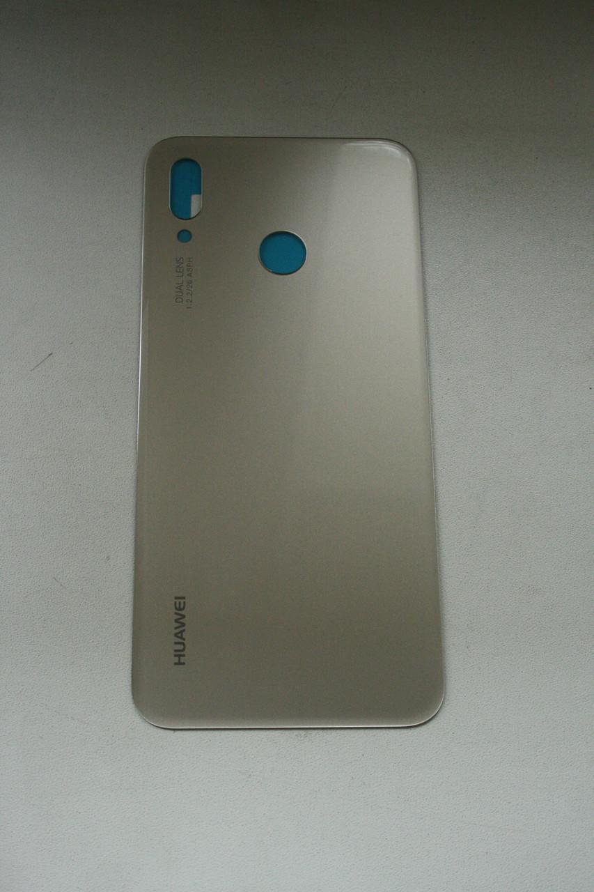 Задня кришка для смартфону Huawei P20 Lite золотиста