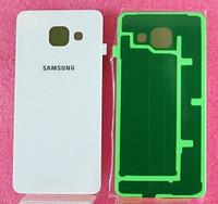 Задня кришка для смартфону Samsung A310F, A310M, A310N, A310Y Galaxy A3 (2016), біла