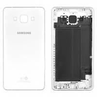 Задня кришка для смартфону Samsung A500F, A500FU, A500H Galaxy A5, біла