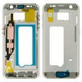 Середня частина корпусу Samsung G930F Galaxy S7, біла