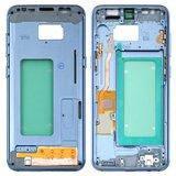 Средняя часть корпуса для смартфона Samsung G950FD, голубая
