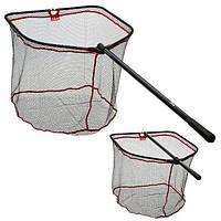 Подсак раскладной DAM Big Fish Net 1.60м складывающаяся голова 60см х 70см øсетки 10мм