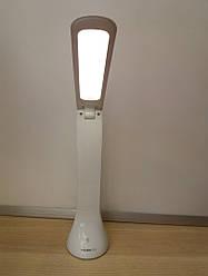 Настольная светодиодная лампа VIDEX VL-TF01W 3.5W LED 4100K 5V белая (аккумуляторная)