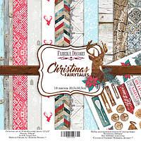 Набор бумаги для скрапбукинга Фабрика декора Christmas fairytales, 30х30см, фото 1