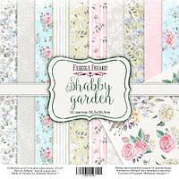 Набор бумаги для скрапбукинга Фабрика декора Shabby garden, 30х30см, фото 1