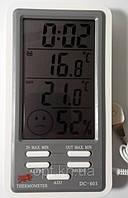 Влагомер для инкубатора, термометр, часы DC-803