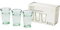 Набір з 3-х склянок для води, фото 1